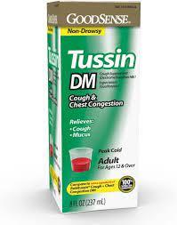 Tussin DM, Cough Suppressant & Expectorant,